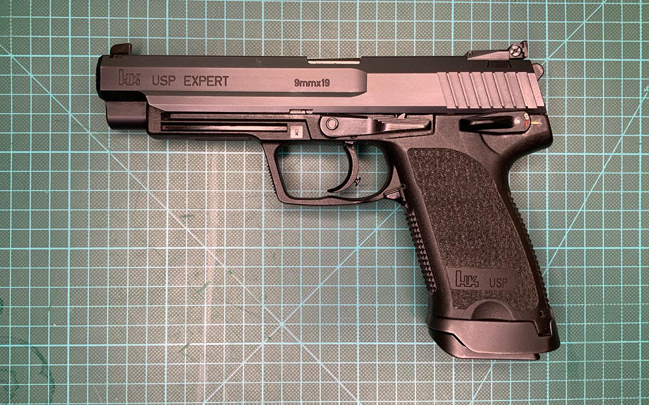 Predám pištoľ HK USP Expert 9x19 Luger