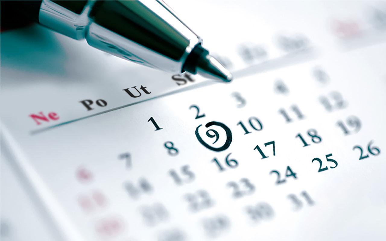 Kalendár súťaží na rok 2020 je vonku!