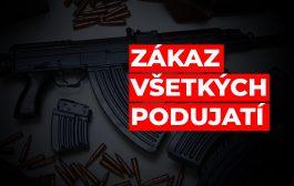 AKTUALIZOVANÉ! Zákaz streleckých podujatí