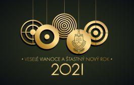 Veselé Vianoce a šťastný nový rok 2021!