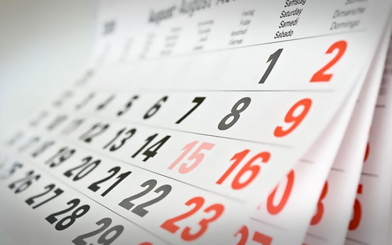 Zmeny v súťažnom kalendári